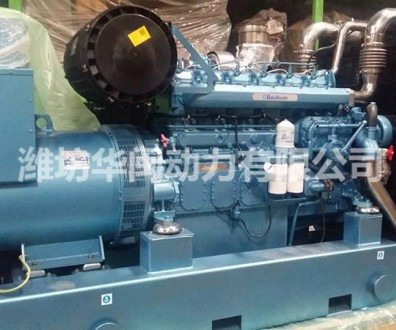 600kw潍柴柴油发电机