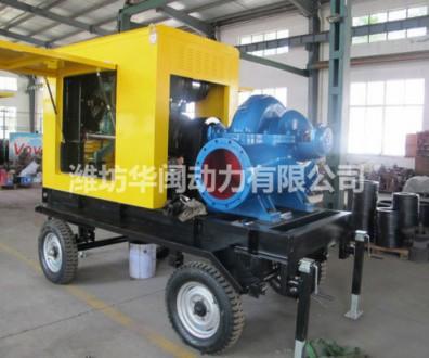 防雨罩拖车水泵机组