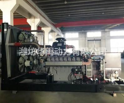 400KW天 然气沼气发电机组 威曼动力D30燃气发动机