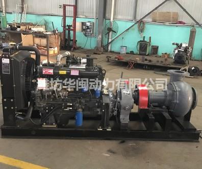 120KW抽砂泵机组 潍柴系列R6105AZP柴油机 2000转