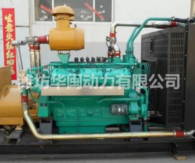 300KW燃气发电机组 上柴12V138ZLG柴油机发动机