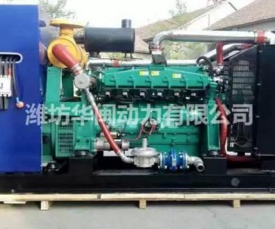 100kw燃气发电机组潍坊华旭6126系列