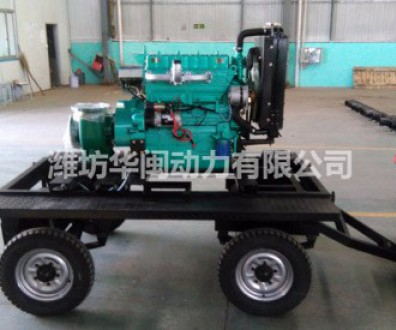 30KW柴油水泵机组HW150-12混流泵K4100D柴油机直连
