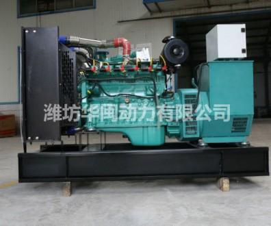 天 然气发电机组100kw 配四保护系统